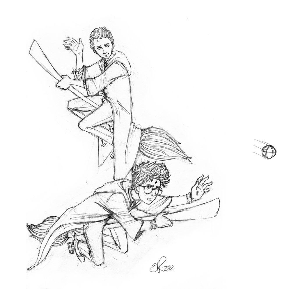 1024x995 Harry Potter Quidditch Coloring Pages Coloring Pages Kids