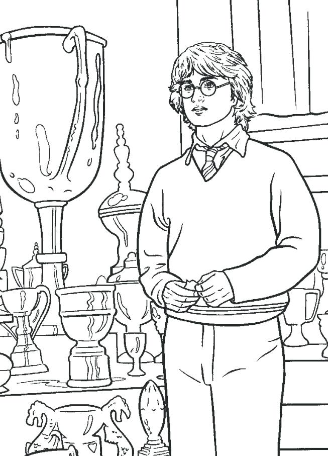 653x907 Harry Potter Coloring Sheets