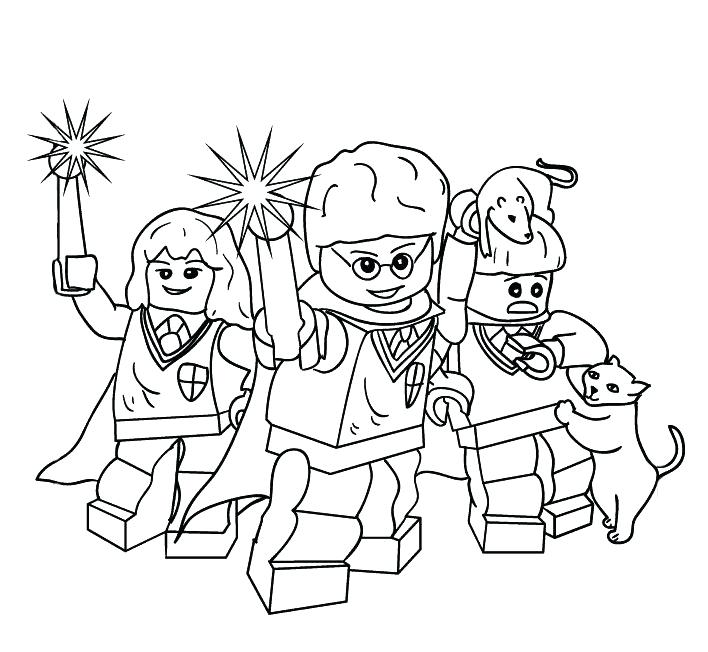 708x652 Harry Potter Coloring Pages To Print Coloring Page For Kids Harry