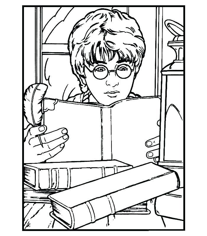 700x800 Dibujos Para Colorear Harry Potter Free Printable Harry Potter