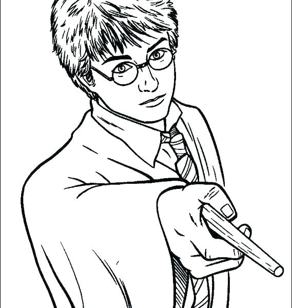 569x600 Harry Potter Coloring Pages Harry Potter Coloring Pages Harry
