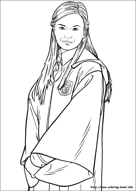 567x794 Harry Potter Coloring Page Harry Potter Coloring Page Harry Potter