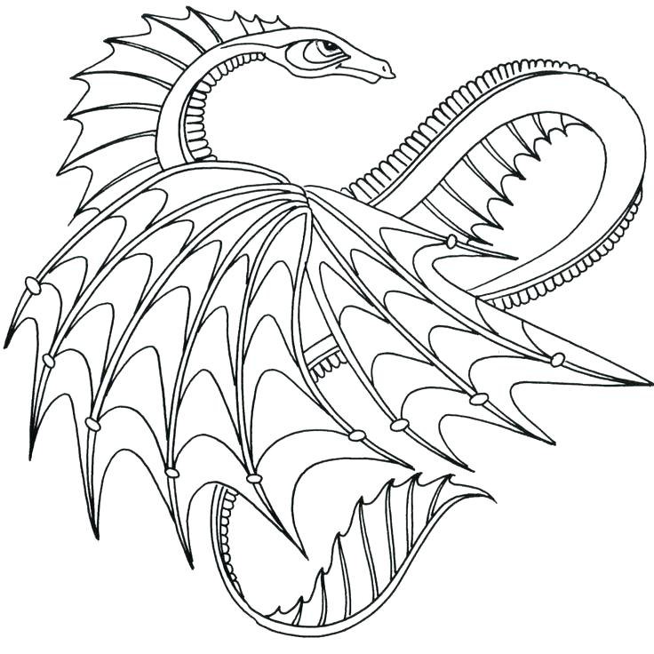 736x736 Cool Dragon Coloring Pages Real Dragon Coloring Pages Trend Baby