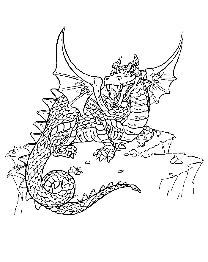 700x879 Harry Potter Dragon Coloring Pages Collection Free Coloring Sheets
