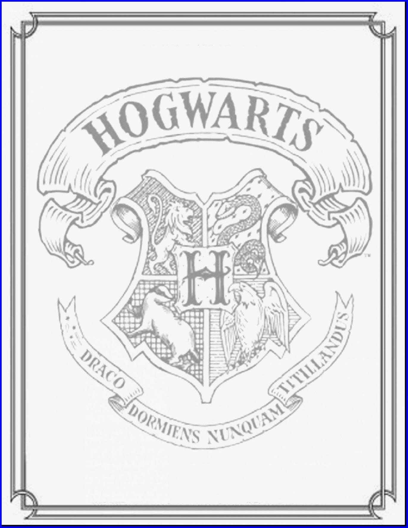 1371x1771 Marvelous Hogwarts Crest Coloring Page Harry Potter Fresh
