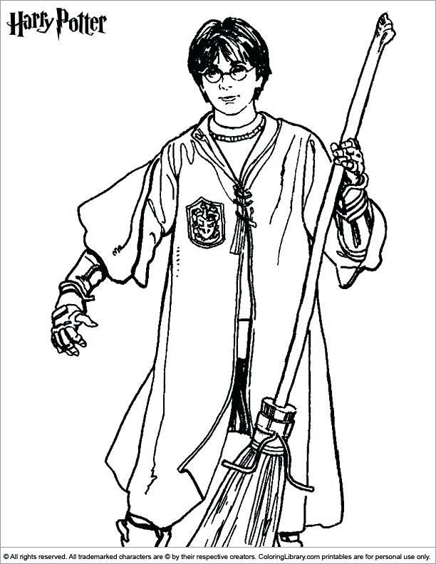 612x792 Best Of Harry Potter Coloring Book Kids Information And Ideas Luna