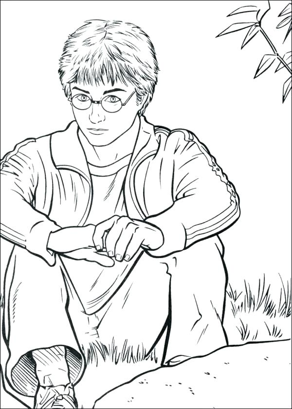 600x840 Harry Potter Coloring Harry Potter Printable Colouring Pages Harry