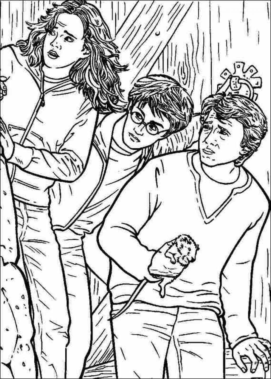 1143x1600 Harry Potter Printable Coloring Pages Harry Potter Printable