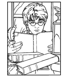 236x269 Free Printable Harry Potter Coloring Pages