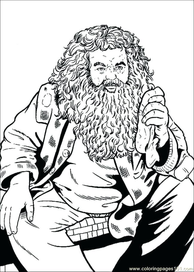 650x910 Harry Potter Coloring Pages