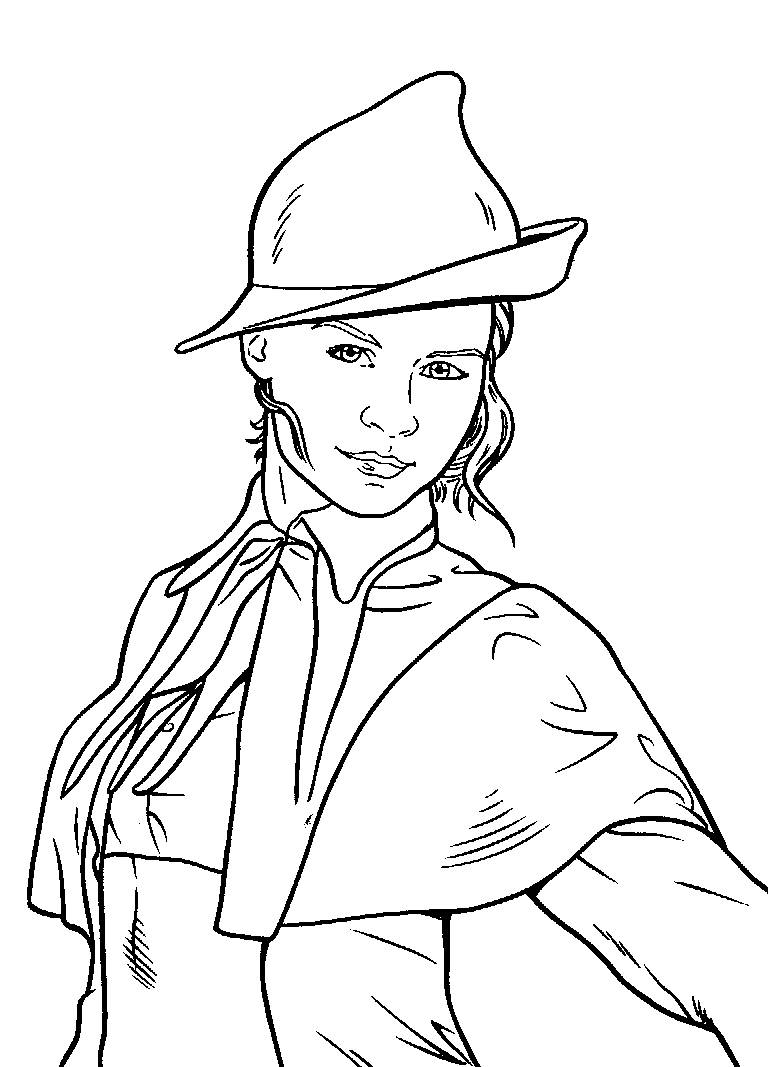 768x1067 Coloring Pages Harry Potter