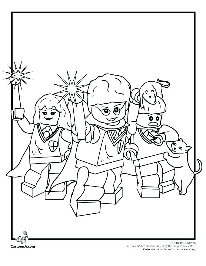 Harry Potter Wand Coloring Pages