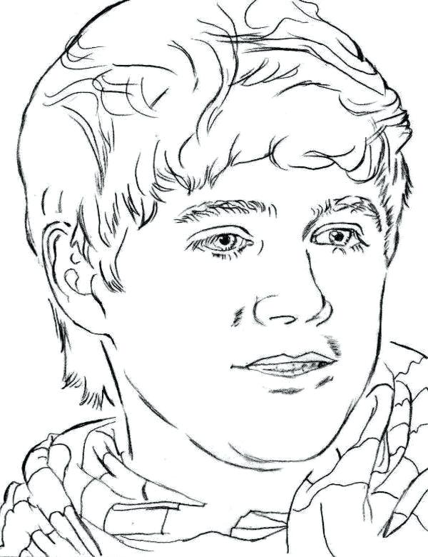 Harry Styles Coloring Page at GetDrawings | Free download