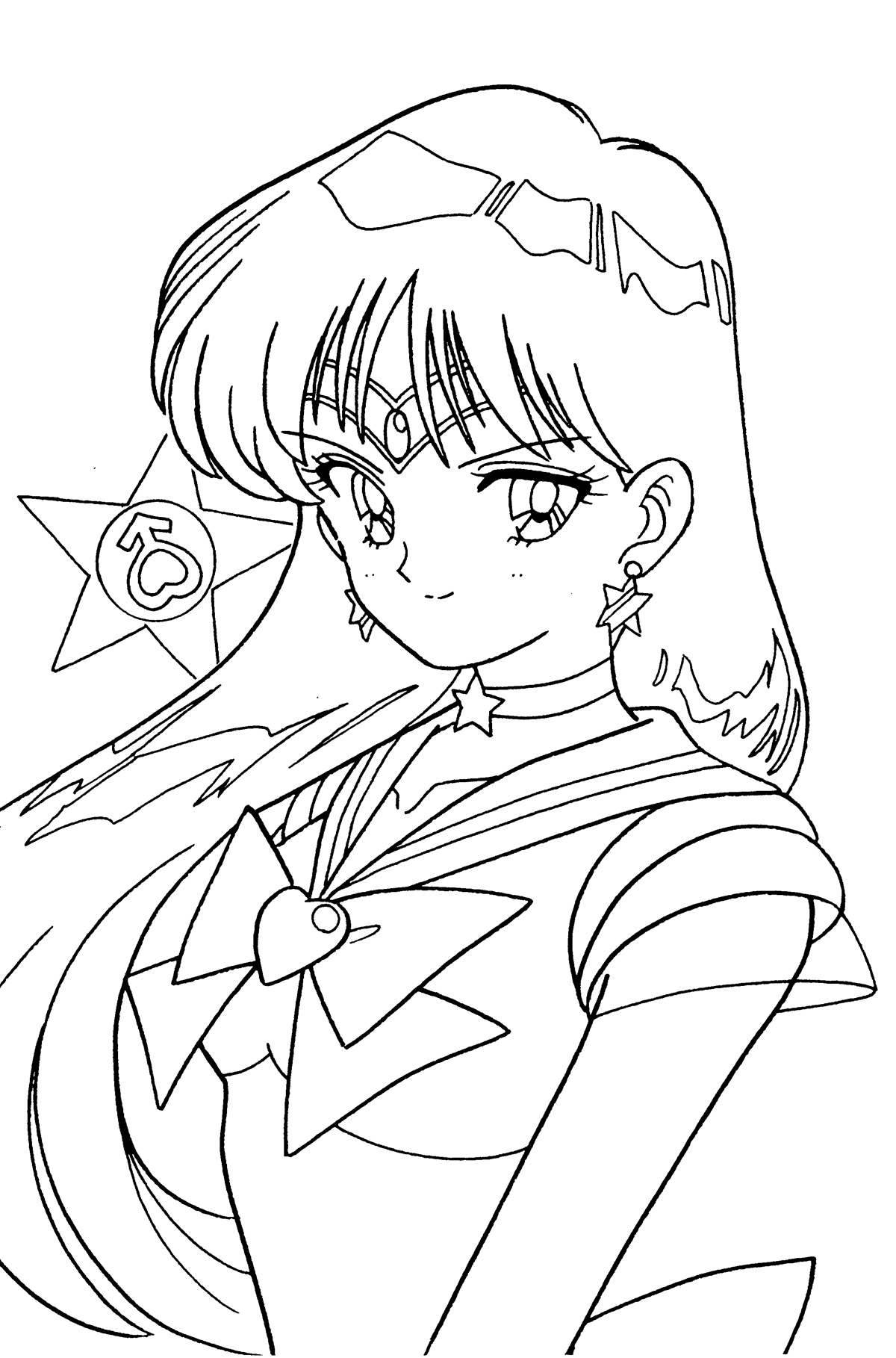 1200x1818 Free Coloring Pages Of Mars Coloring Pages Sailor