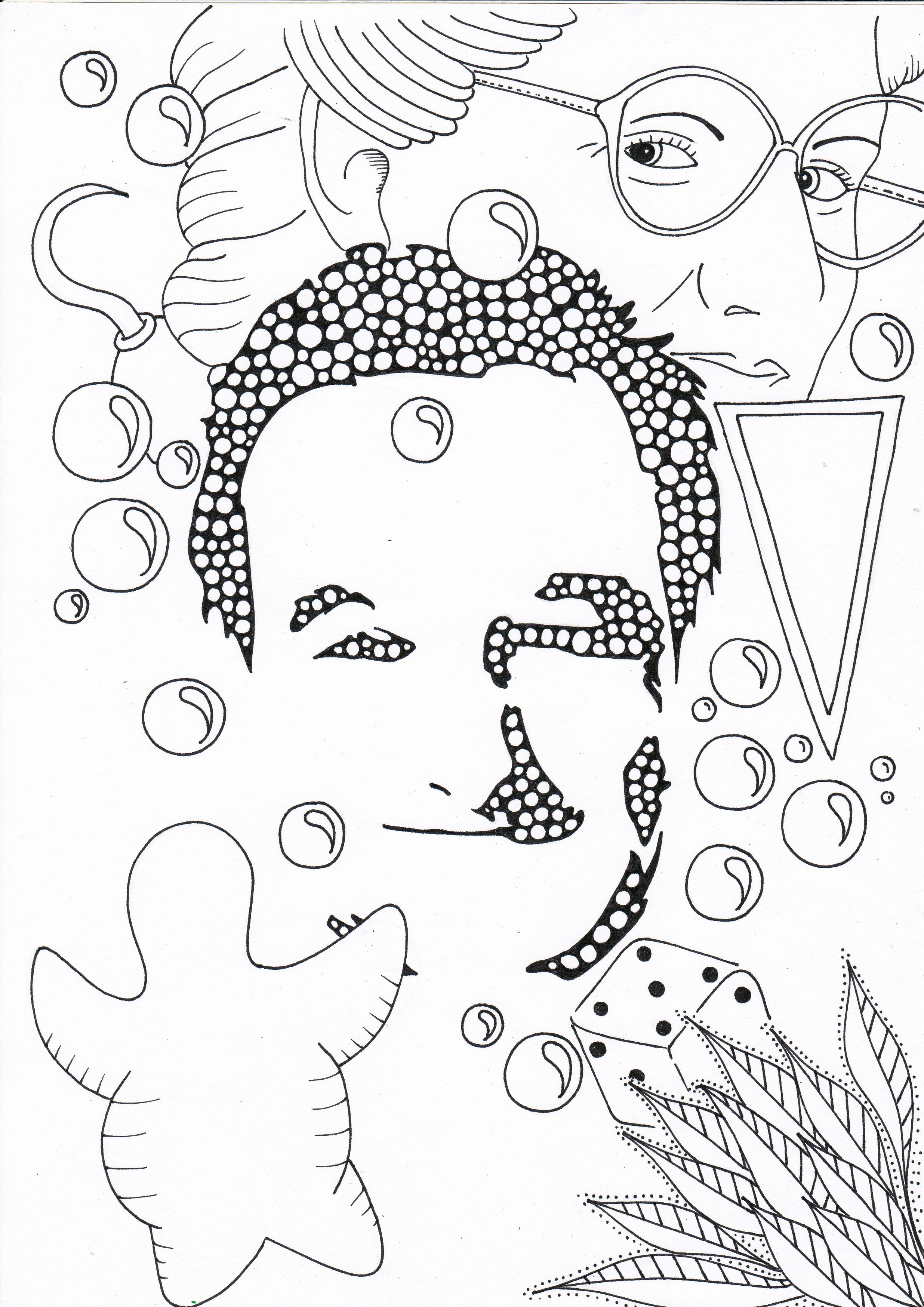 2472x3496 New Harry Styles Coloring Page From E Direction Boys Band More E