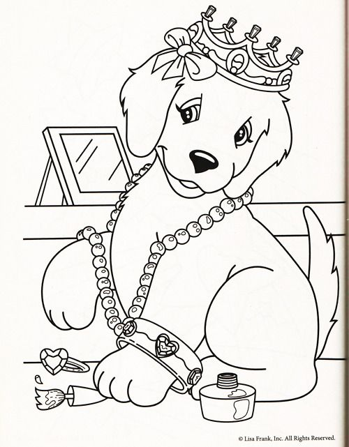 500x641 Kleurplaten Honden On Dog Cartoons Coloring Pages Harry