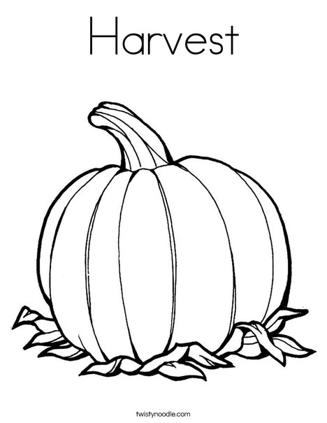 468x605 Harvest Coloring Page