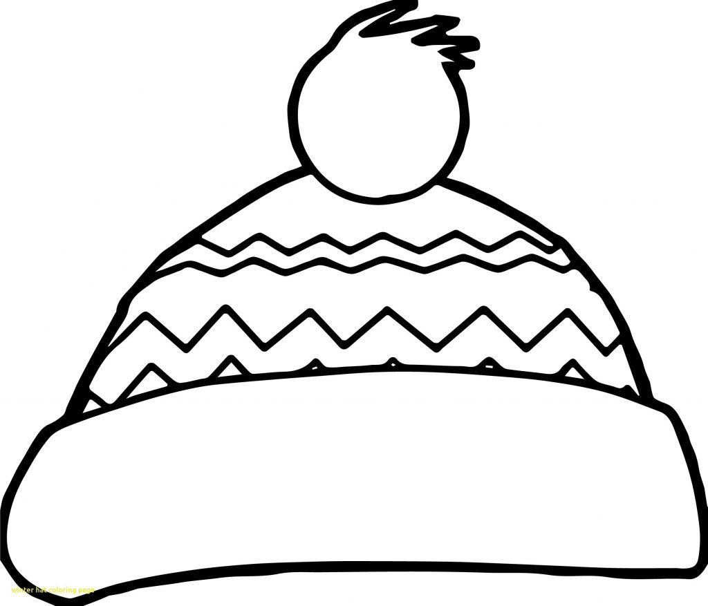 1024x877 Guaranteed Winter Hat Coloring Page Freecolorngpages Co