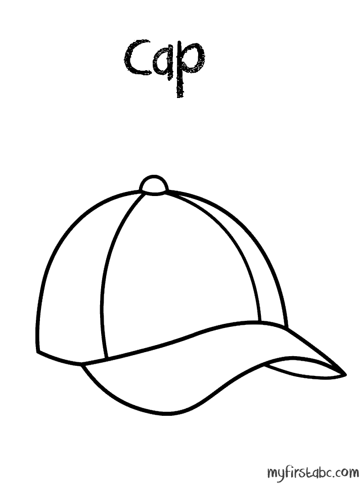 718x958 Hat Coloring Pages