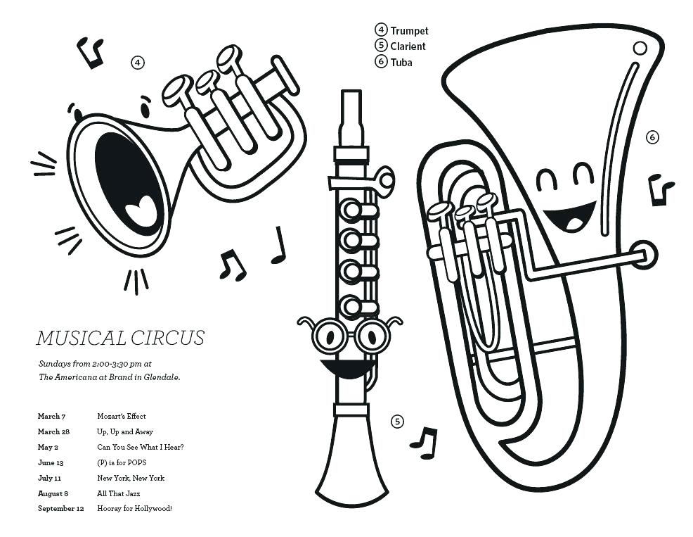 986x763 String Instruments Colouring Pages Instrument Coloring Family Page
