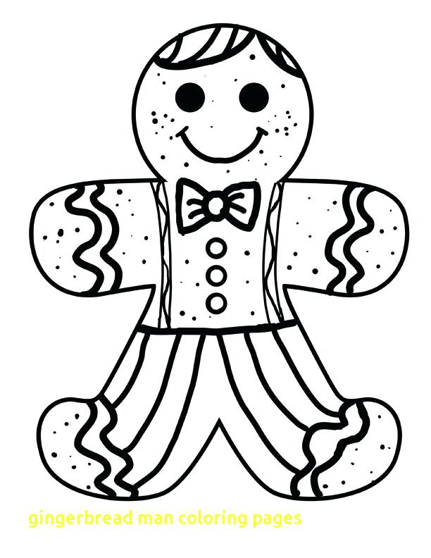 612x792 Gingerbread Man Coloring Page With Gingerbread Man Coloring Pages