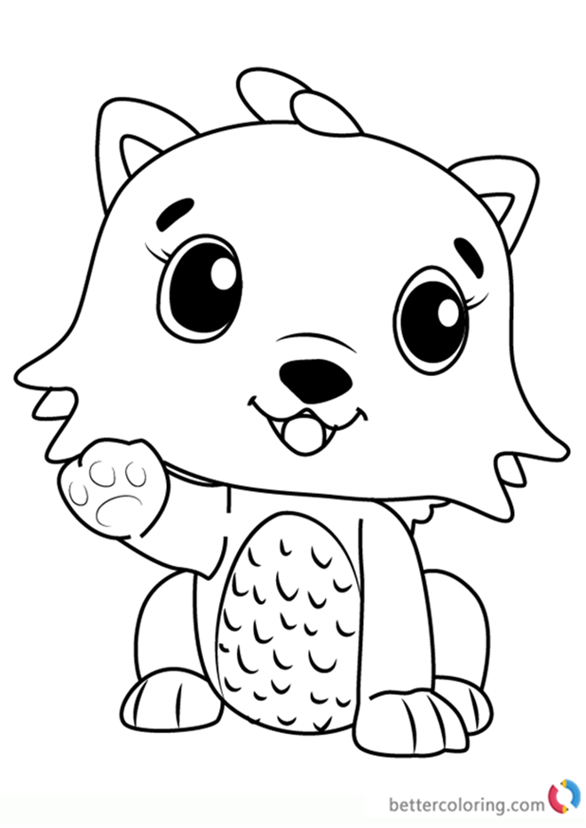 Hatchimals Coloring Page At Getdrawings Com Free For Personal Use