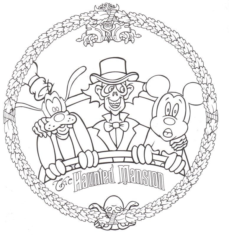 776x799 Free Disney Halloween Coloring Pages Halloween Coloring, Disney