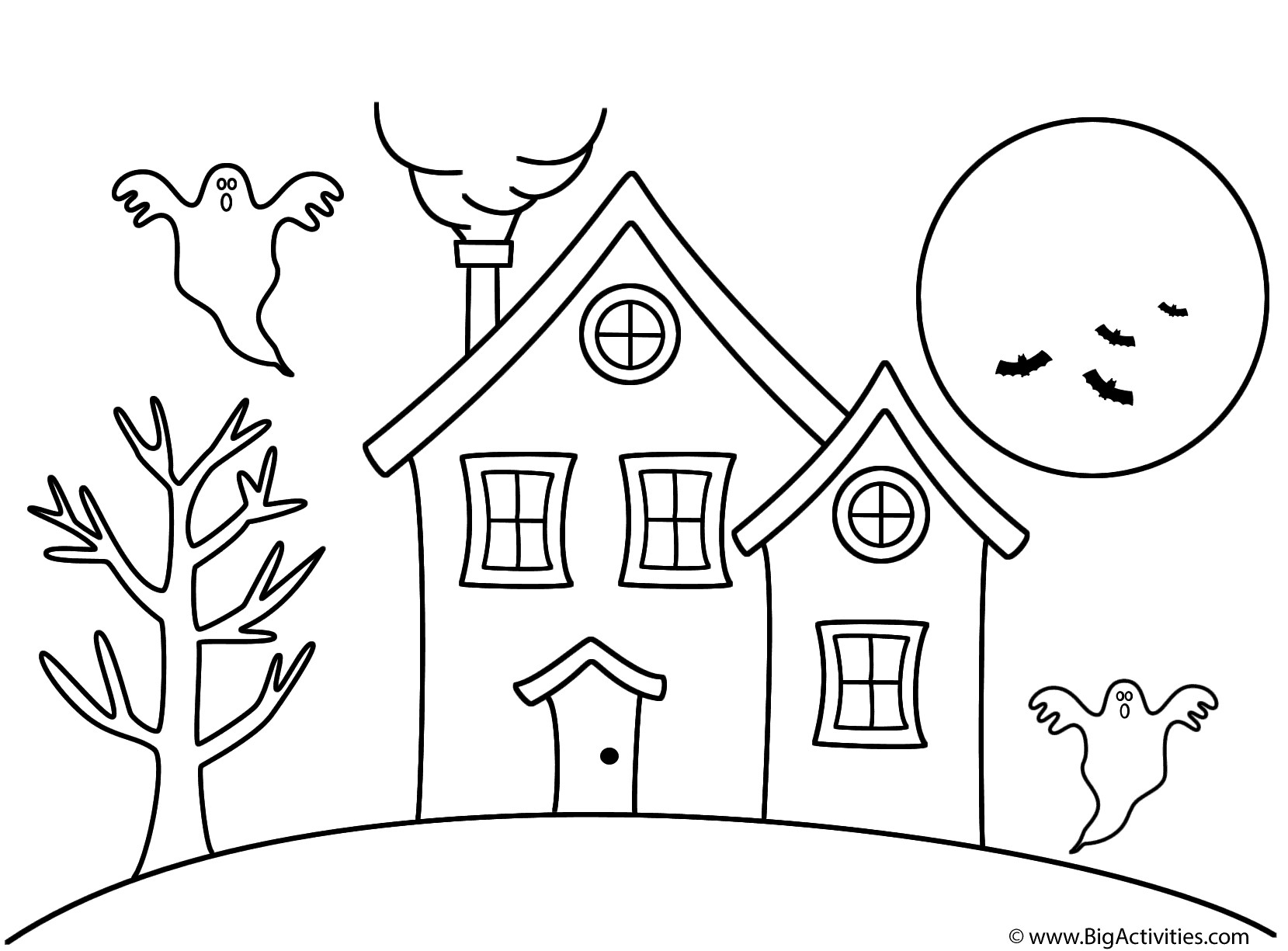 1659x1225 Coloring Halloween House Coloring Pages New Coloring Sheets