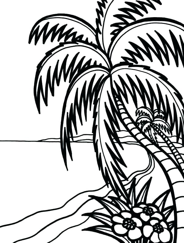 600x794 Hawaii Coloring Pages Coloring Page Coloring Page Amazing Beach