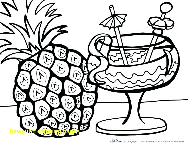 777x600 Hawaii Coloring Pages Coloring Pages With Trend Coloring Pages