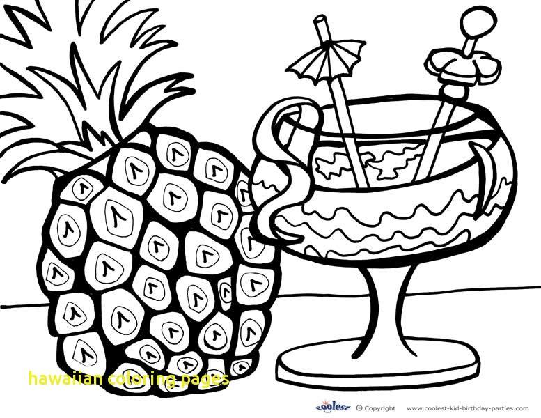 777x600 Hawaiian Coloring Pages With Aloha Hawaii Coloring Page