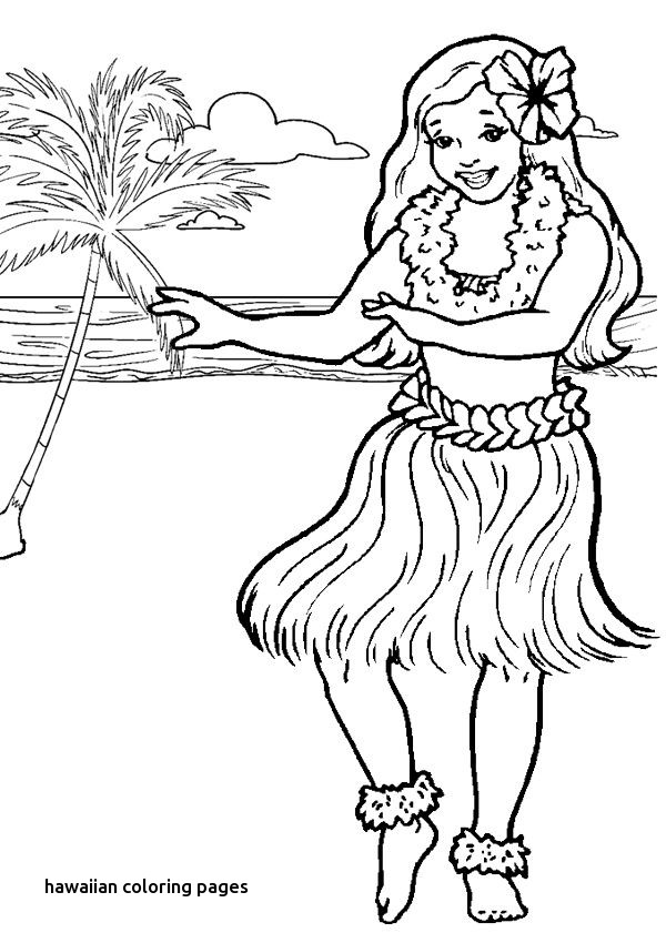 Hawaii Coloring Pages Free Printables