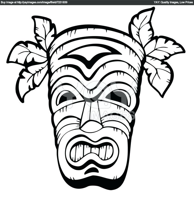 736x764 Hawaiian Flower Coloring Pages Coloring Pages To Print Printable