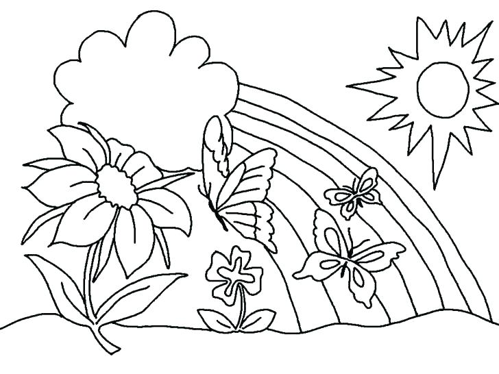 728x546 Hawaiian Flowers Coloring Pages Coloring Pages With Coloring Pages