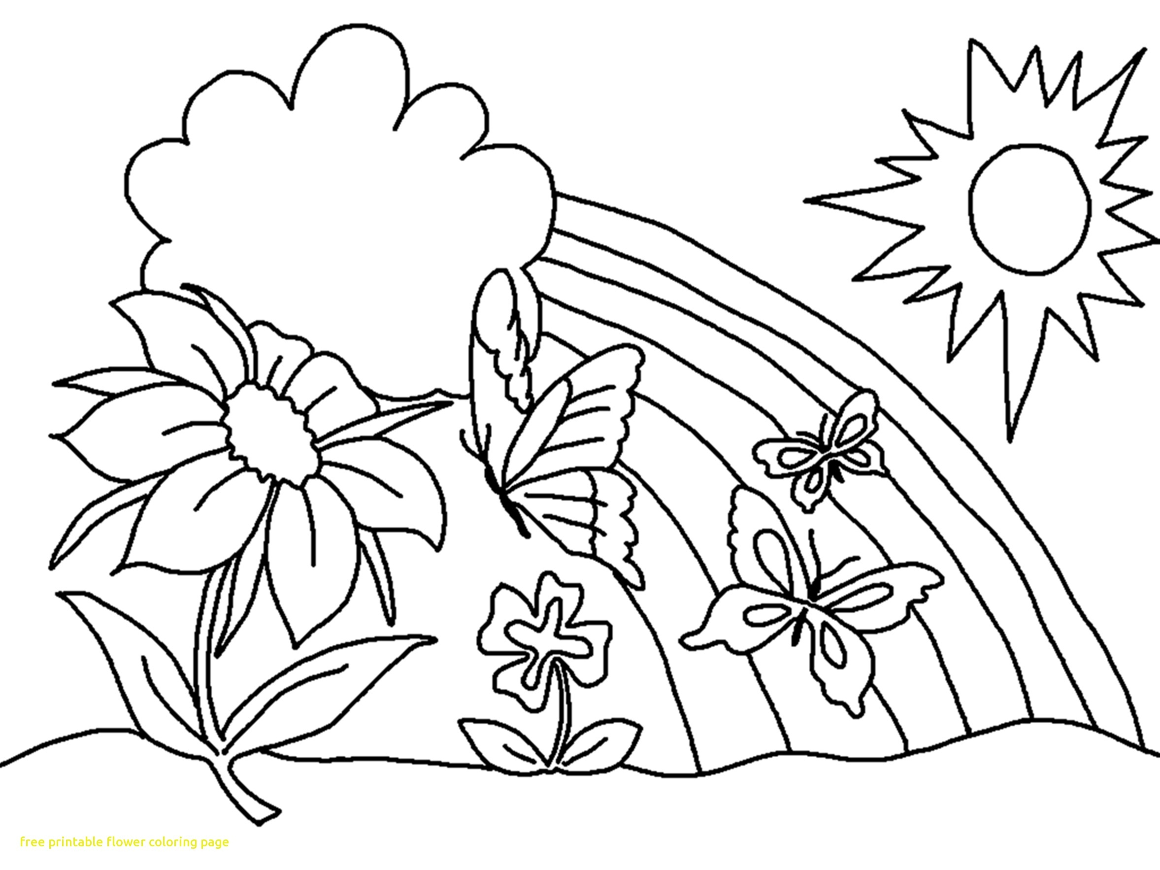 2355x1766 Coloring Tropical Flower Coloring Pages New Coloring Sheets