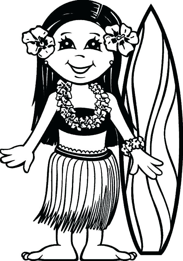 600x858 Hawaiian Coloring Pages Coloring Pages Coloring Pages Coloring