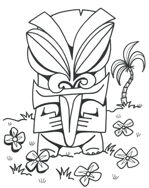 507x640 Hawaiian Coloring Pages Mask Coloring Pages Info Faces Coloring