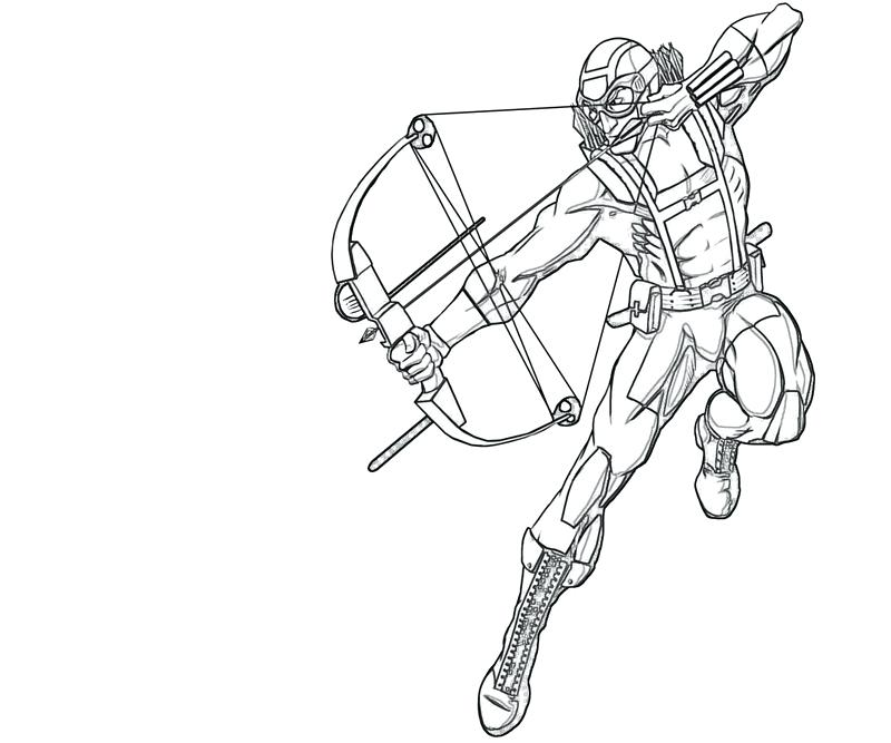 800x667 Hawkeye Coloring Pages Character Lowland Seed Hawkeye Coloring
