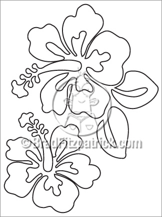 324x432 Hibiscus Coloring Sheet Hibiscus Coloring Page Coloring Pages