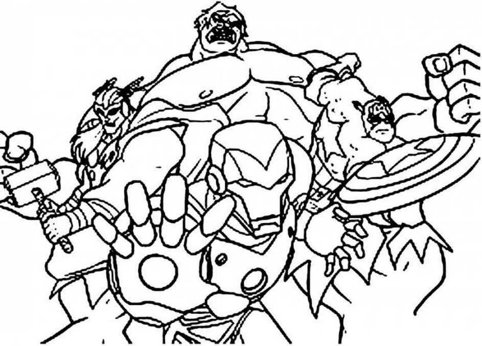 943x676 Avengers Coloring Pages Hd Coloring Pages