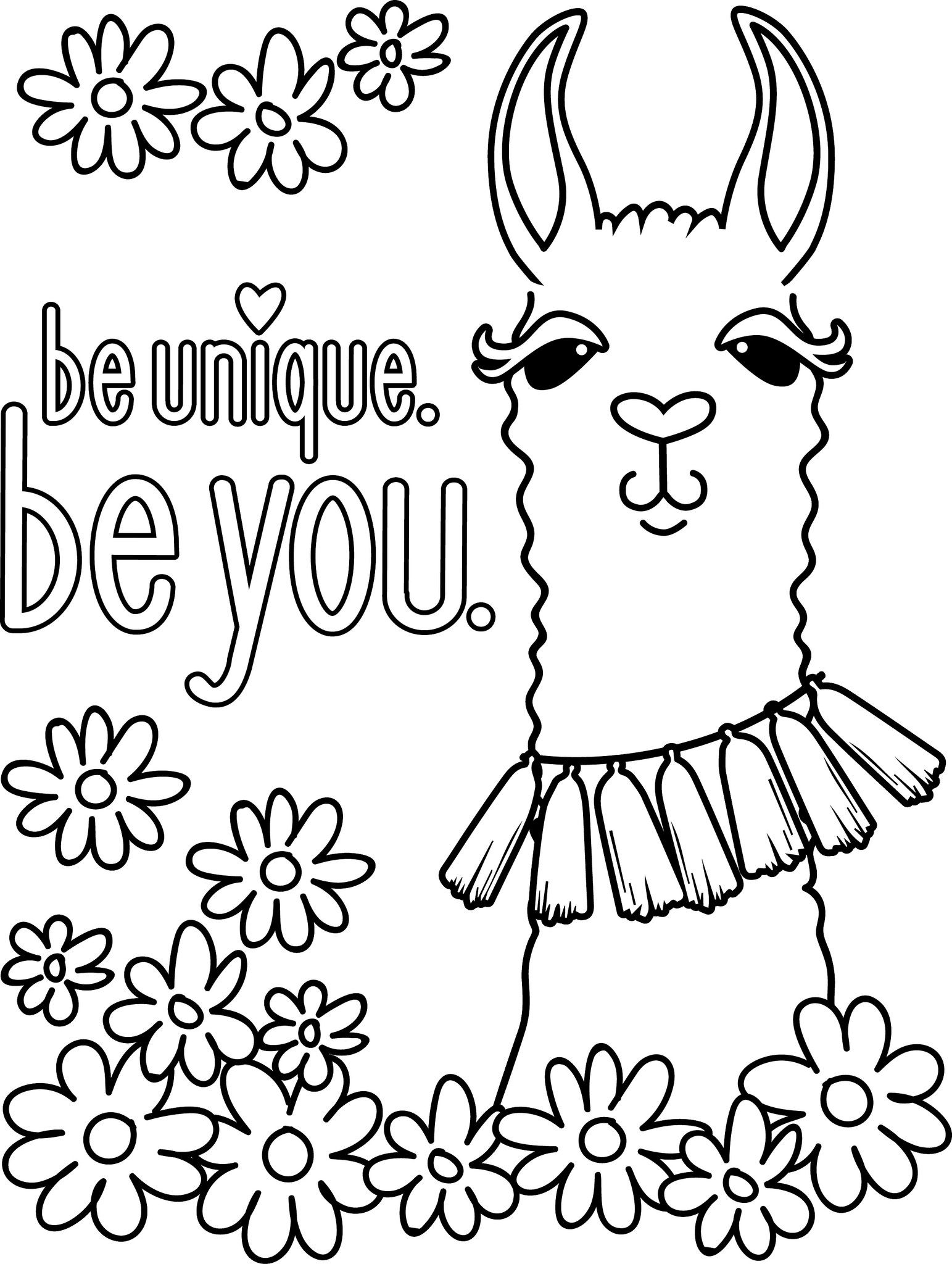 1543x2048 Llama Coloring Pages With Wallpapers Hd For Android Llama Coloring