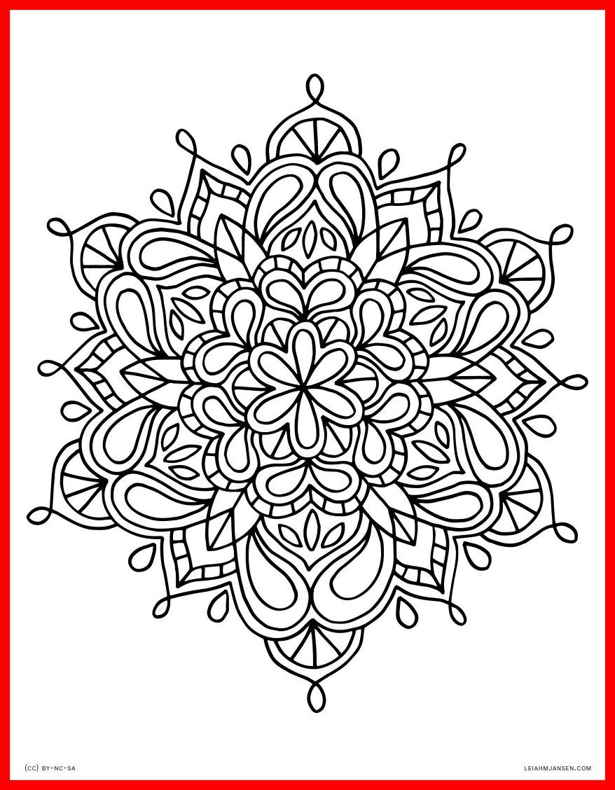 878x1128 Coloring Pages For Adults Hd