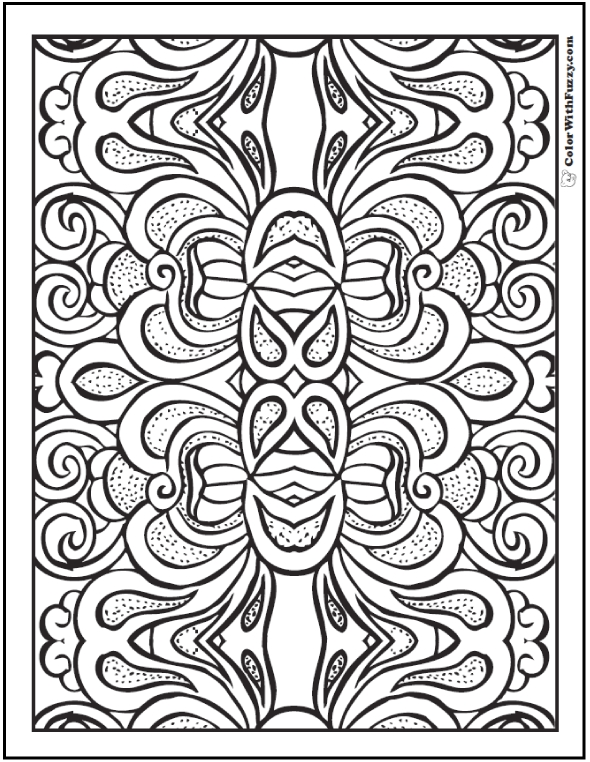 590x762 Adult Coloring Pages Patterns Hd Printable