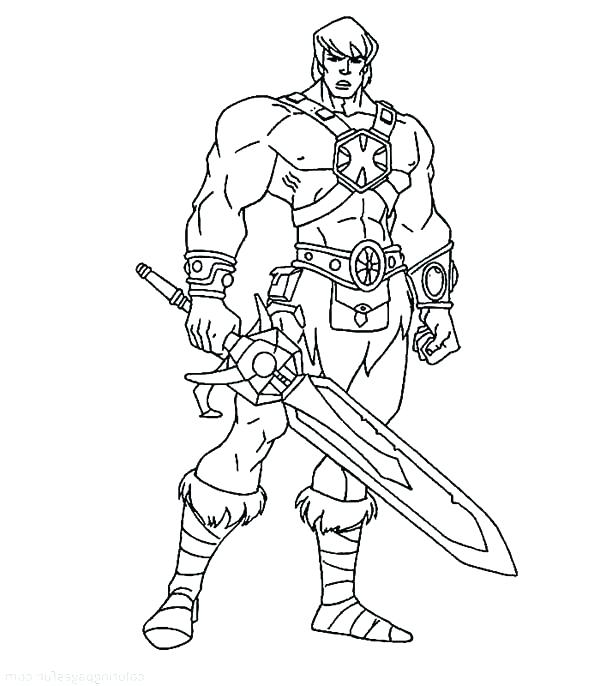 600x686 He Man Coloring Pages Man Coloring Page He Man Coloring Pages He