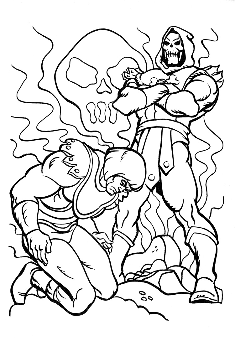 750x1105 He Man Coloring Pages With Wallpapers Hd For Iphone