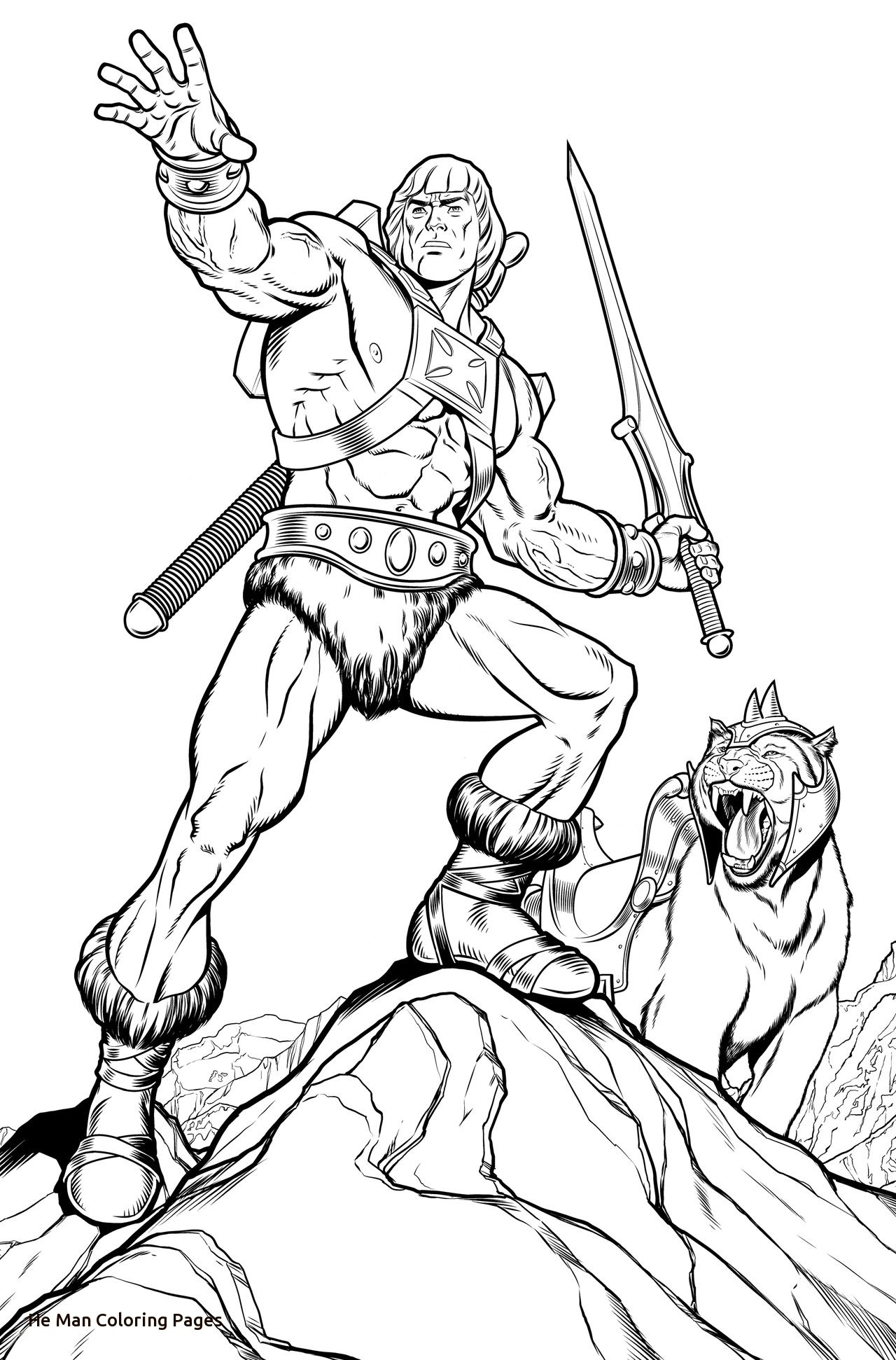 147 Best COLORING BOOK PAGES of the MOTU/POP Universe images ... | 1942x1280