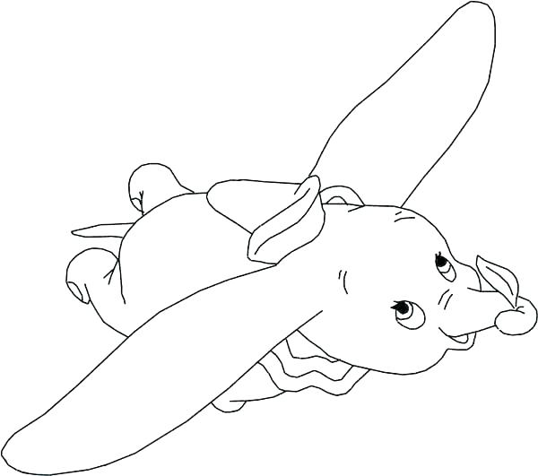 600x531 Elephant Head Coloring Page Elephant Color Page Cute Baby Elephant