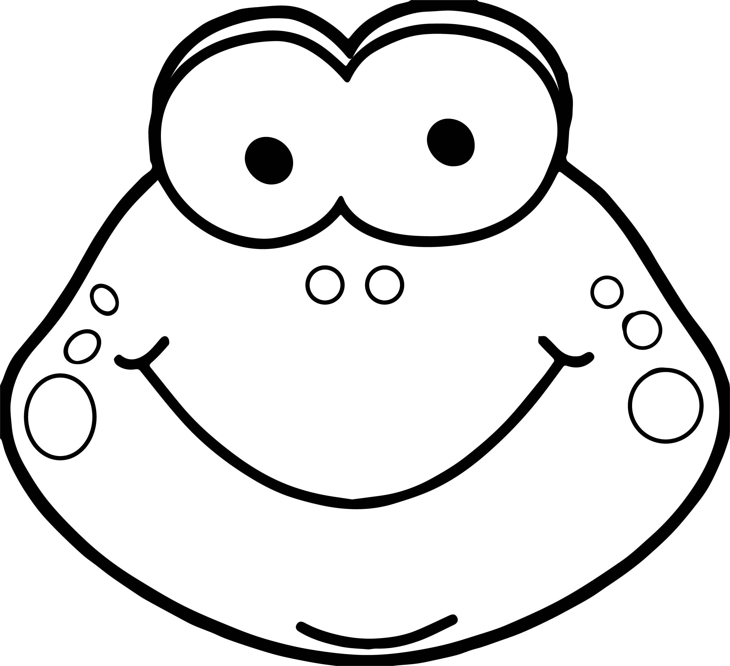 2513x2290 Froggy Coloring Pages