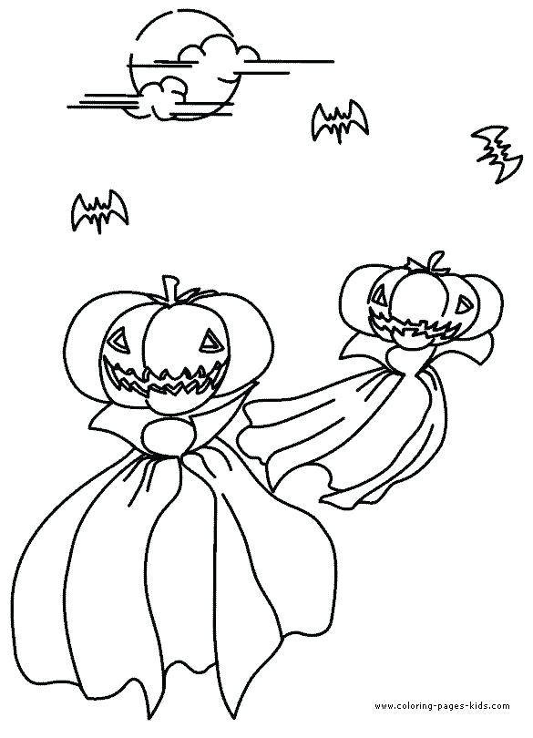 585x810 Halloween Themed Coloring Pages Themed Coloring Pages Headless