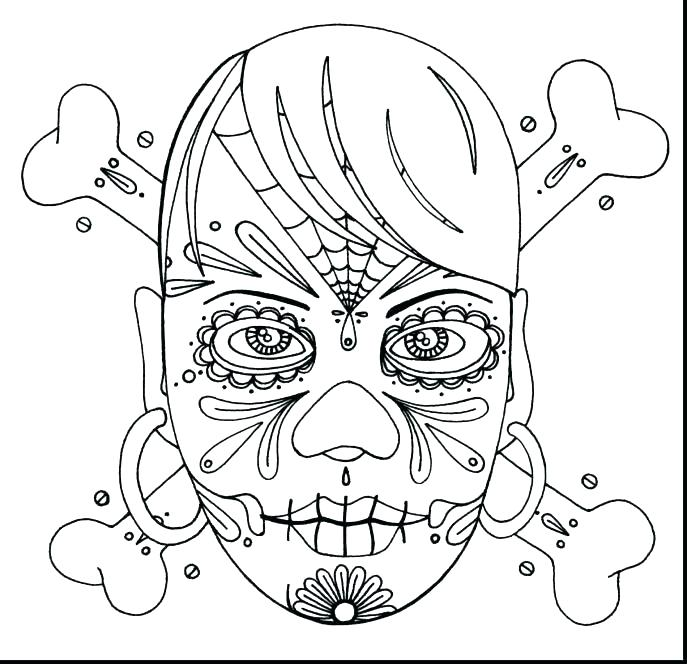 687x664 Skull Coloring Pages Anatomy Skull Coloring Pages Anatomy Skull